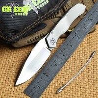 Складной нож S35VN из титанового сплава с подшипником и ручкой для кемпинга  охоты  уличных фруктов  карманные инструменты для повседневного и...
