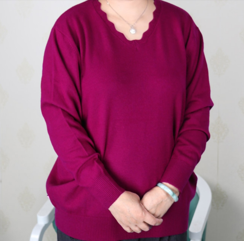 ADDONEE plus size women clothing 5XL 6XL7XL 8XL 9XL Large size middle aged clothes mother cashmere