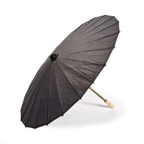 [Fly Eagle ]30 шт. X 2014 хит продаж Бесплатная доставка Черный Бумажный зонт ручной работы B AMBOO & RICE PAPER UMBRELLA