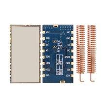 2 개/몫 RF4432F27 고성능 FSK RF 모듈 중간 전력 si4432 500mW 무선 송수신기 모듈 433mhz 모듈