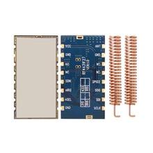 2ピース/ロットrf4432f27の高性能fsk rfモジュール中電力の500メガワット無線トランシーバモジュール433 mhzモジュール