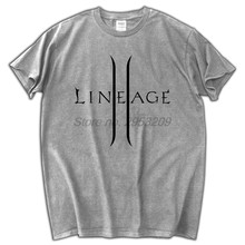 05ebe4651 Lineage 2 The Chaotic Throne T-shirt Cotton Men T shirt New Design(China
