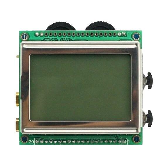 THGS DSO150 mini oscilloscope pocket-sized digital oscilloscope dso150 avr core portable 2 1 glcd digital storage oscilloscope green black silver