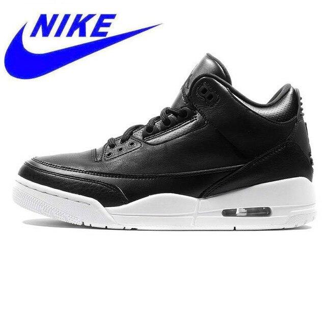 7203b212cca Original Nike Air Jordan 3 Retro Sport Men's Basketball Shoes,Comfortable  Sports Outdoor Sneakers,Black Color 136064