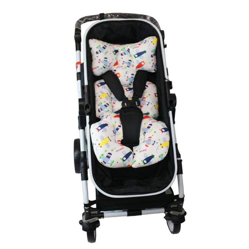 Mother & Kids Baby Soft Stroller Pad Car Seat Warm Cushion Mat Mattresses Pillow Cover Child Carriage Cart Thicken Pad Trolley Chair Cushion Strollers Accessories