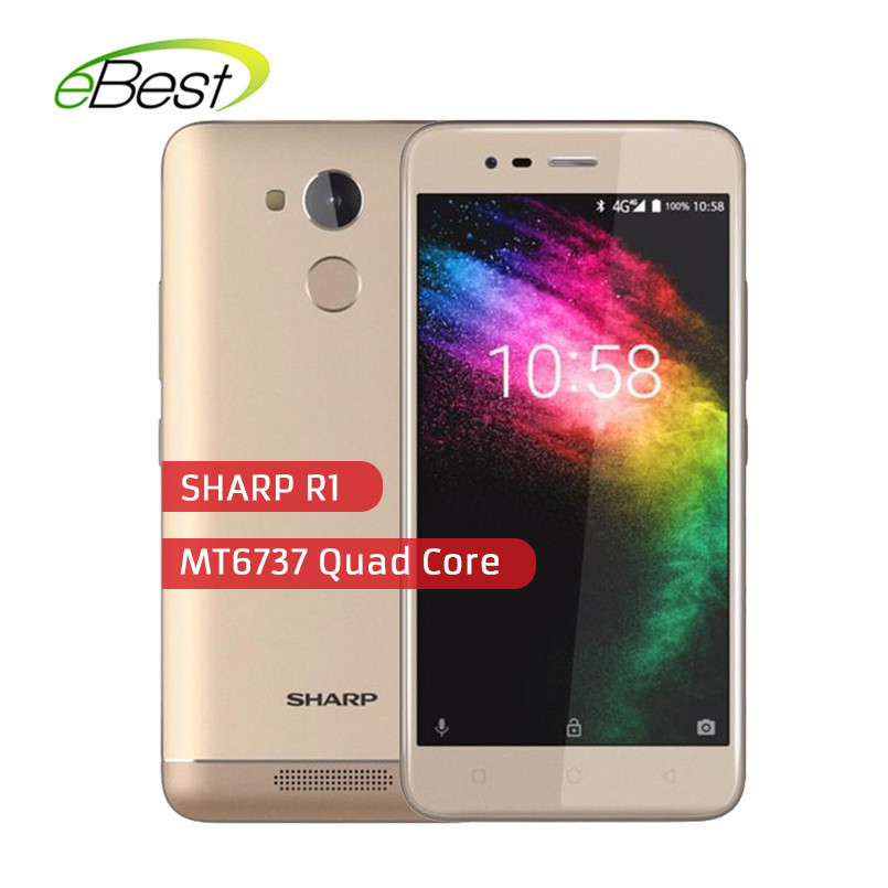 Sharp R1 5.2 pouces 16:9 ratio Smartphone MT6737 Quad Core téléphone portable 4000 mAh 3 GB RAM 32 GB ROM Android 4G LTE téléphone portable-in Mobile Téléphones from Téléphones portables et télécommunications on AliExpress - 11.11_Double 11_Singles' Day 1