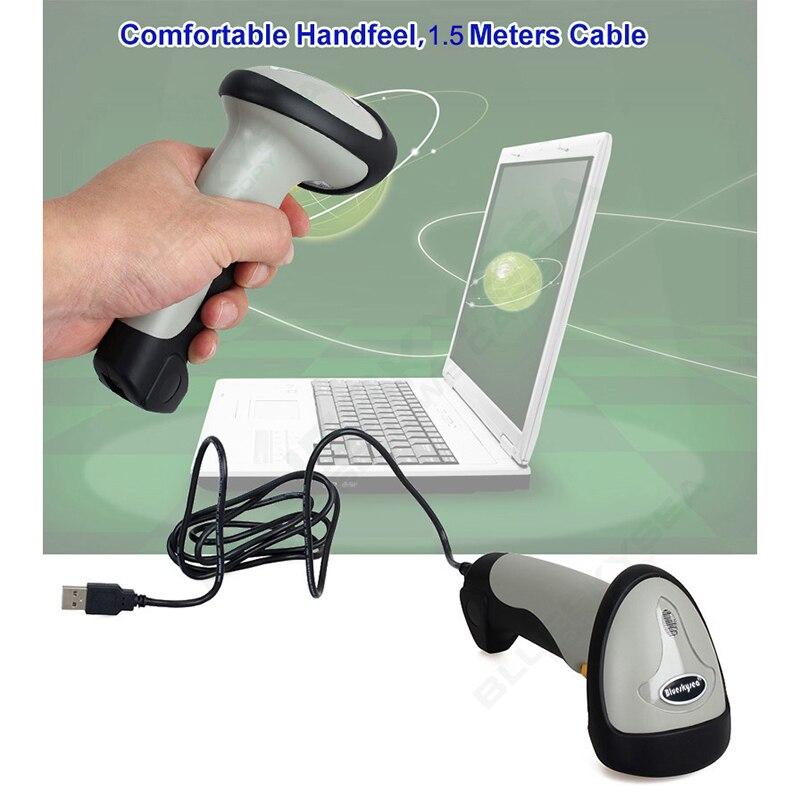 Портативный USB проводной и Беспроводной Bluetooth портативные Авто Sense лазерный 1D сканер штрих-кода Reader CT10X для IOS и Android