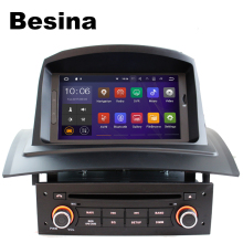 Besina 1 Din Android 7.1.1 Car DVD Player for RENAULT Megane II Fluence 3G Wifi GPS Navigation Bluetooth Radio RDS multimedia FM