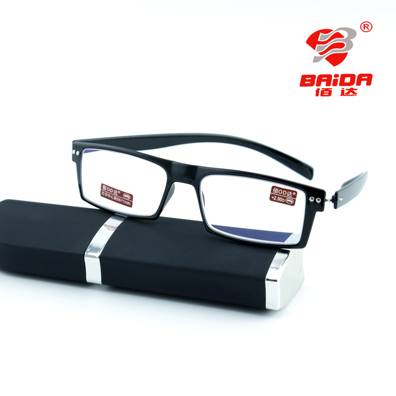 2014 fashion rimless glasses 3323 non spherical reading