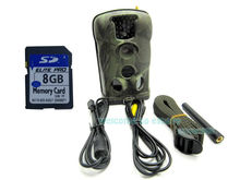 Free Shipping!Ltl Acorn 6210MM Full HD 1080P MMS Email Scouting Hunting Trail Game Camera+8GB SD Card