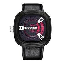 СКОНЕ Высокое Качество Часы Мужские Военные Наручные Часы Fashion Бизнес Часы Мужчины Люксовый Бренд Часы Мужчины Dropshipping Montre