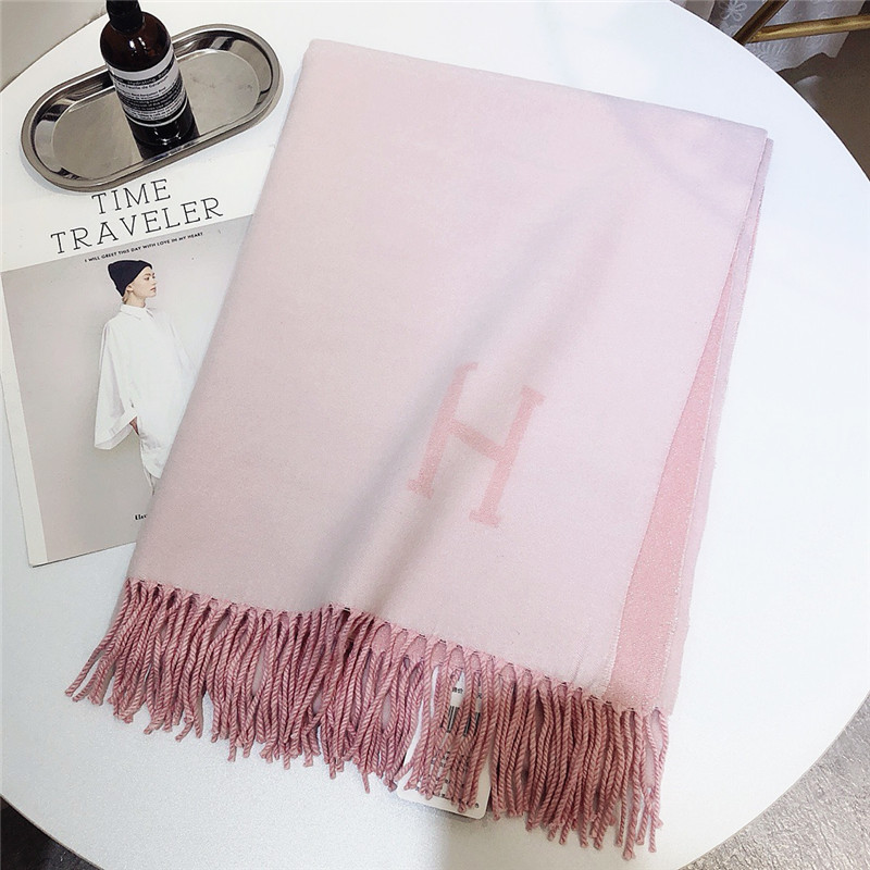 New 2019 Luxury Winter High-quality Cashmere Scarf Lady h Th
