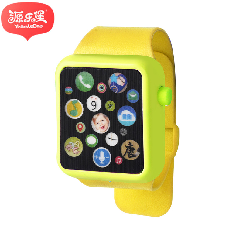 Baby 3D Touch Screen Music Smart Watch Learning Machine ABS Wristwatch Toy Early Education Toys Christmas Gift 000593