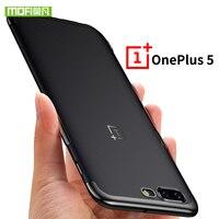 Oneplus 5 Case Cover Silicone Luxury Soft Tpu A5000 Original Mofi One Plus 5 Case Shockproof