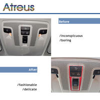 Carro estilo de leitura luz quadro cobre adesivos para mercedes w176 w246 c117 w117 para mercedes benz a b gla cla classe acessórios|adesivos automotivos internos| |  -