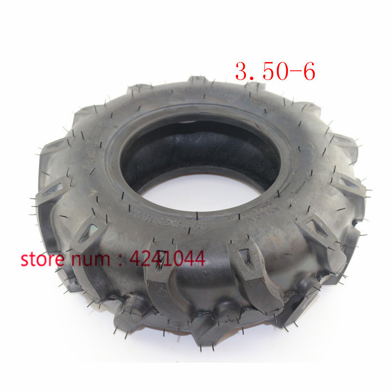 US $20 31 15% OFF|Wear resistant 3 50 6 thickening vacuum tyre for rotary  cultivator ATV Quad Lawn Mower Garden Tractor-in Tyres from Automobiles &