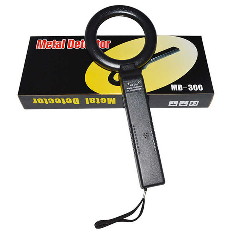 Free Shipping Handheld metal detector Body Scanner MD300 color box package