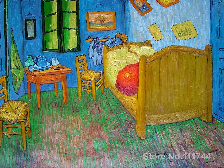 Camera da letto arte per la parete del soggiorno vincents ad arles di vincent van gogh dipinti a - Camera da letto van gogh ...