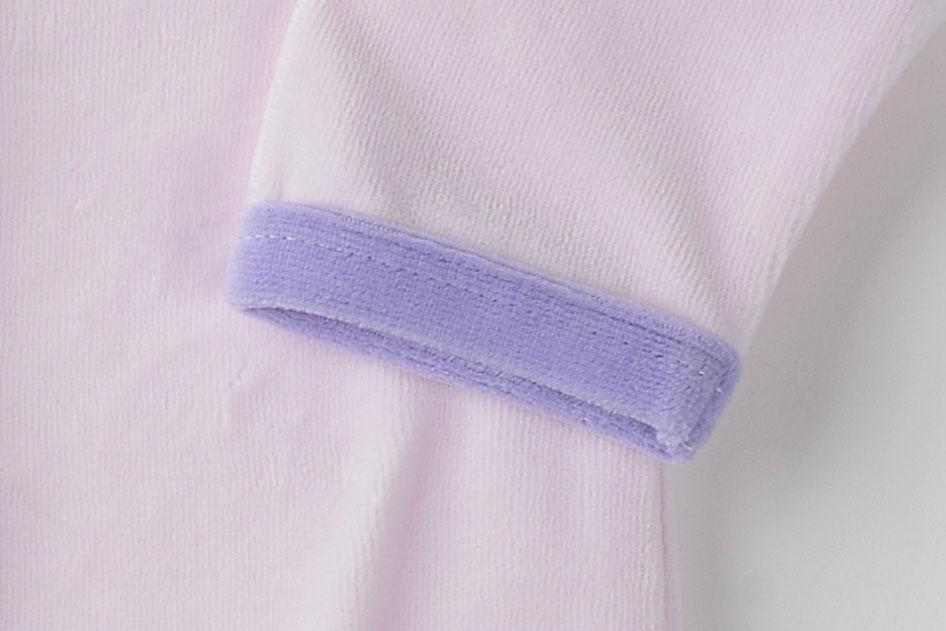 08ef8f4e7 Baby Romper For 3M 9M Foot Cover Sleepwear Baby Boy Girl Full Sleeve ...