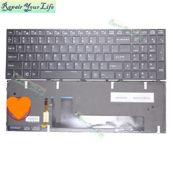 Repair You Life Laptop US keyboard For Thunderobot ST-PRO ST PRO english  Black with frame New and Original