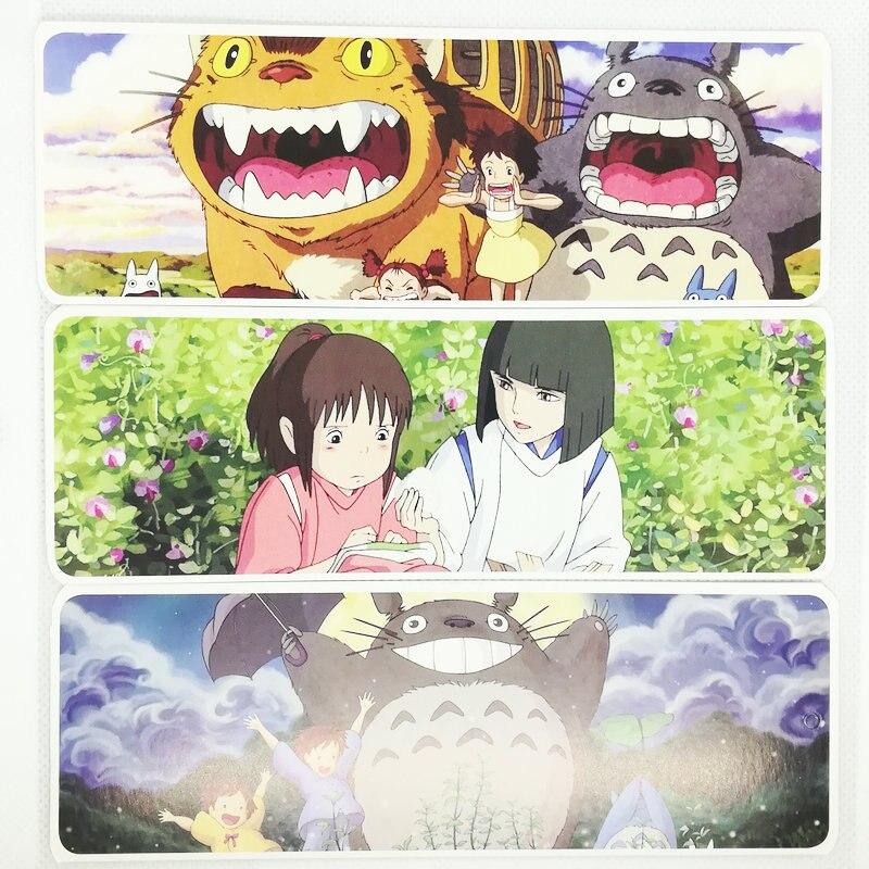 36 Pcs/Set Anime Miyazaki Hayao Totoro Paper Bookmark Stationery Bookmarks Book Holder Message Card Gift Stationery
