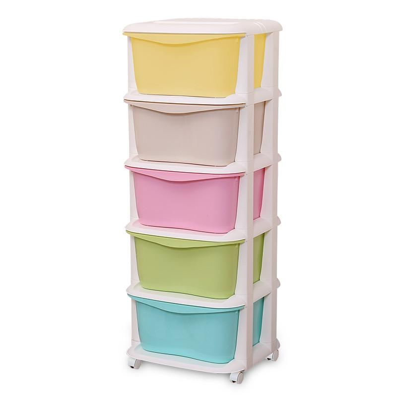 Купить с кэшбэком Multicolour storage cabinet plastic drawer cabinet finishing storage box storage cabinet fashion brief local