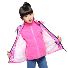 2019 New Fashion Spring Autumn Girls Jacket Children Outerwe
