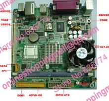 Industrial motherboard pos machine special motherboard oem cle266 one piece machine