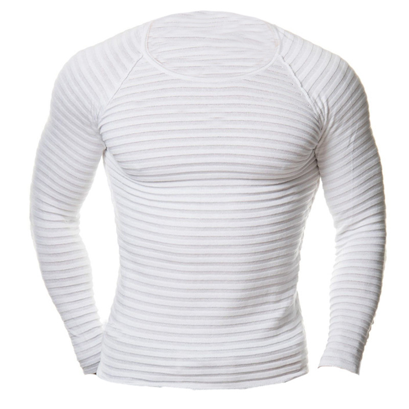 6887ffd10aac 2018 Men's Muscle T Shirts Crossfit Tee Top Long Sleeves Crew Neck Men Tees  Shirt Plus Size 4XL Male Bodybuilding Gyms Clothing-in T-Shirts from Men's  ...