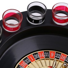 Shot Glass Roulette Set Drinking Game