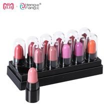 12Colors Set Mini Cute 12 Colors Lipstick Travel Set Waterproof Lip Color 1 2gx12 High Quality