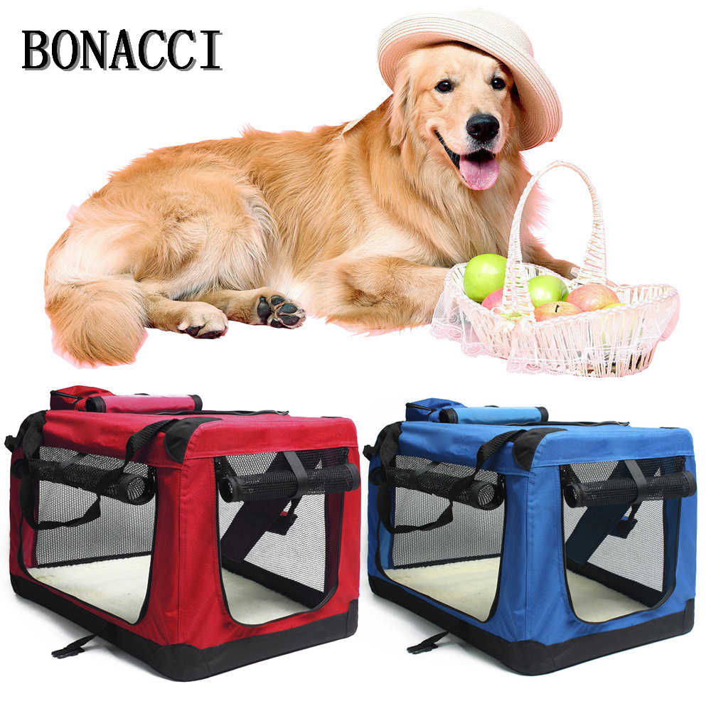 Wheel Carrier Dog Cat Portable Folding washable Strollers Backpack Breathable Puppy Roller Luggage Car Travel Transport Bag