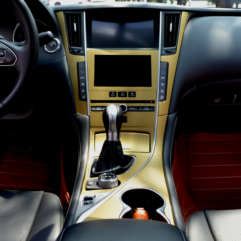 Yeni dizaynlı avtomobil salonu daxili dizayn konsolu Infiniti Q50 / - Avtomobil daxili aksesuarları - Fotoqrafiya 3