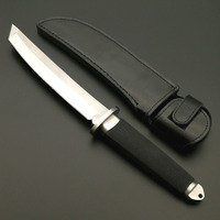 DuoClang Cold Steel Tactical Survival Fixed Blade Knife VG 1 Steel Self Defense Warrior Short Knives San Mei