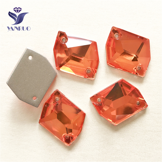 YANRUO 3265 All Sizes Hyacinth Cosmic Crystal Stone Flat Back Glass Sew On  Rhinestone Strass For Sewing Garment 00524a81b99a