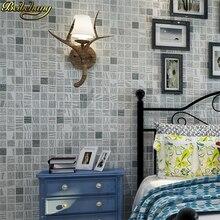 Beibehang 3d Wandbild Stereoskopische Video Tapete Grün Grau Wohnzimmer  Wandmosaik Vlies Tapeten Geprägte Dekoration(China