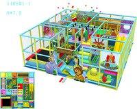 Детская Детские площадки на заказ Крытый мягкий игровой Системы CE сертифицированный 140801