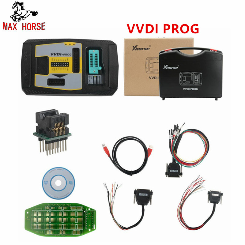 11.11 Promotion Xhorse VVDI PROG Programmer V4.7.4 Auto Diangnostic-tool Program For BMW Support Update and Multi-languages цена