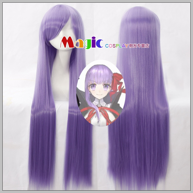 FGO Fate Extra Last Encore Sakura Matou Cosplay Wig CCC BB Moon Cancer Long Straight Synthetic