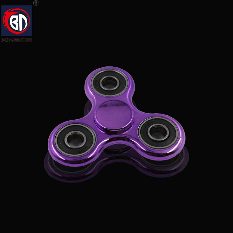 2017 Triangle Gyroscope Finger Spinner Fidget metal EDC Hand Spinner For Autism and ADHD Anxiety Stress Relief Focus Toys Gift new luminous metal fidget spinner triangle gyro edc hand finger spinner for autism adhd anxiety stress relief focus toys gift