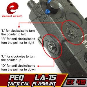 Image 4 - 要素airsof lazer LA 5C peq 15 uhp irグリーンレーザー懐中電灯softair戦術エアガンライフル銃武器狩猟