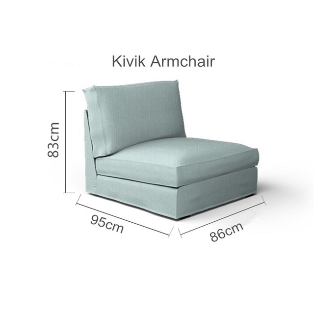 The Kivik Armchair Sofa Cover Replacement For Kivik Armchair Slipcover