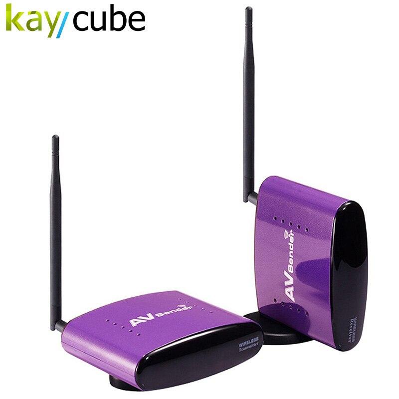ФОТО PAT-550 5.8Ghz Digital STB Wireless Sharing Device Audio Video Wireless AV Transmitter Receiver For DVD DVR IPTV CCTV IR Remote