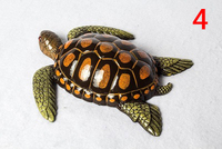 20CM Turtle seafood food model kitchen marine mould wall hanging decoration shopping mall tortoise crafts sculpture statues Home