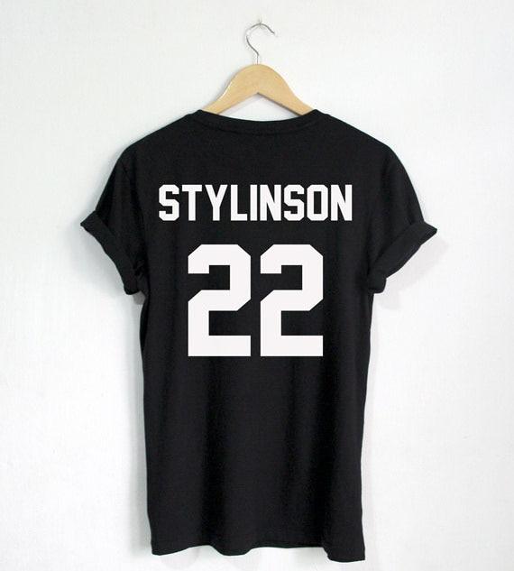Футболка STYLINSON 22 Футболка Larry Stylinson Hipster унисекс більшого розміру та кольорів-A675
