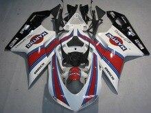 MARTINI ABS Kit Carroçaria Carenagem Para DUCATI 1098 848 1198 2007-2012 08 09 Motocicleta