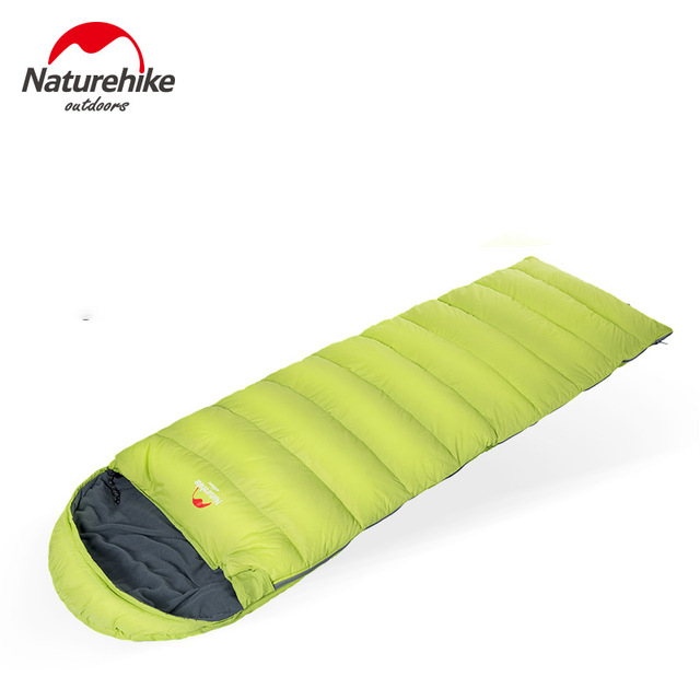 все цены на Naturehike Envelope Sleeping Bag Down Sleeping Bag Eiderdown Camping Sleeping Bag NH15S007-D