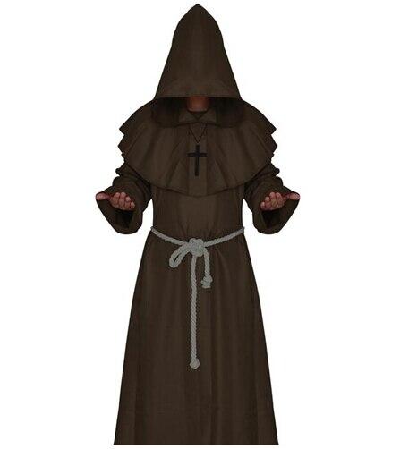 LIVRARE GRATUITĂ Călugăriță Călugăriță Haină Cloak Cape - Costume carnaval - Fotografie 2