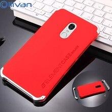 Ollivan для Xiaomi Redmi Note 4X случае Note 4 Алюминий металла Рамки 3 в 1 Жесткий ПК полный защитный задней стороны Чехол для Redmi Note 4 4X