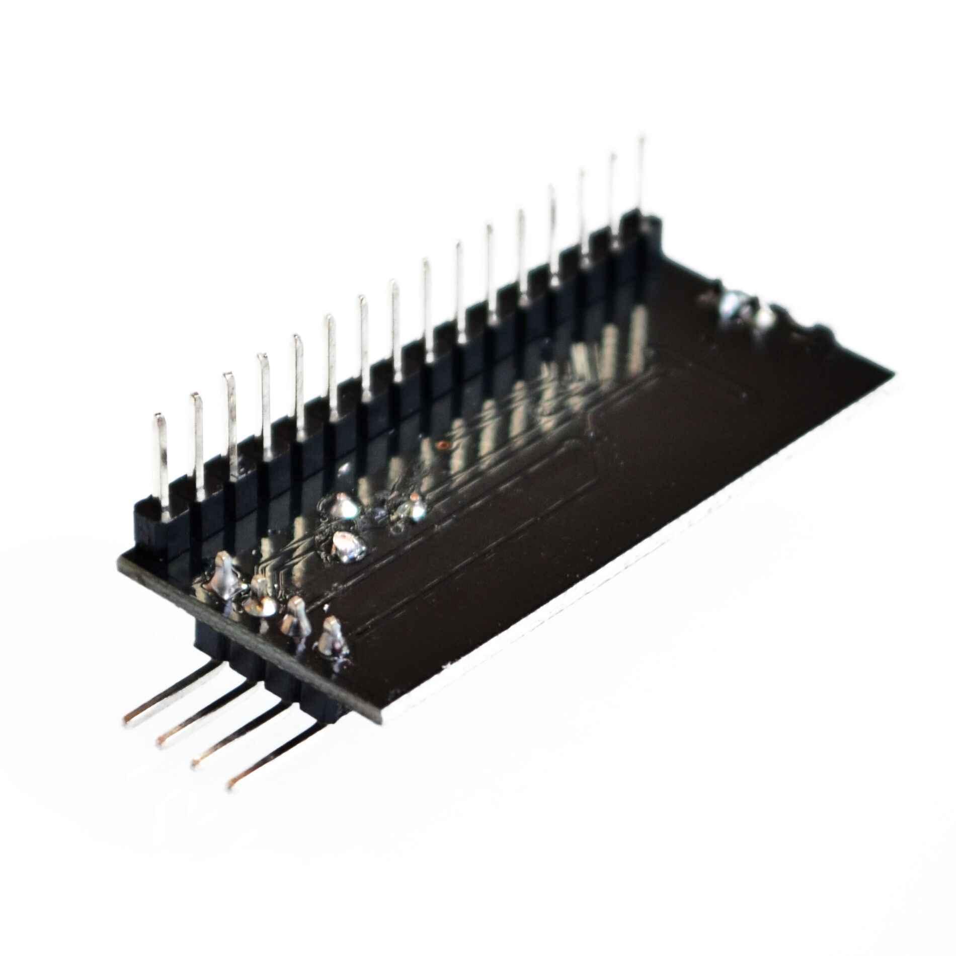 Rétro-éclairage réglable du Module d'interface IIC I2C TWISPI Module de carte série Port 1602 écran LCD pour Arduino